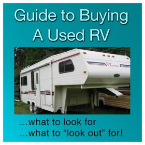 Guide to Buying a Used RV